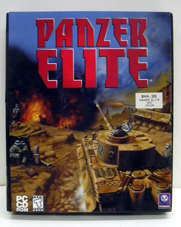 Image for Panzer Elite Psygnosis Windows PC CD-ROM game 1999 NEW - SEALED