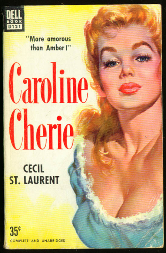 Image for St Laurent Caroline Cherie GGA pb redhead cleavage
