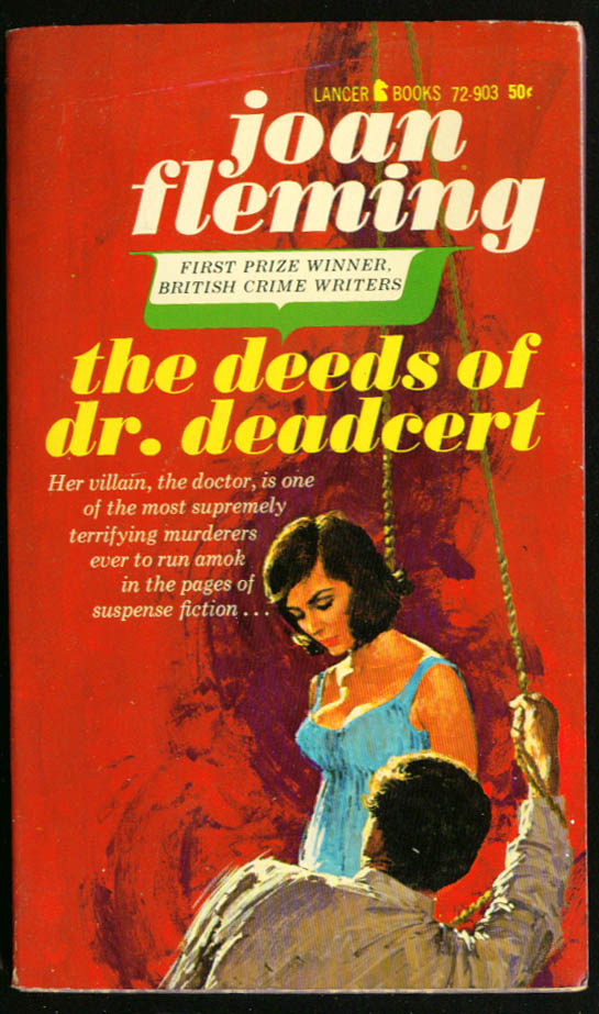 Image for Fleming Deeds Dr Deadcert GGA pb hanging girl cleavage