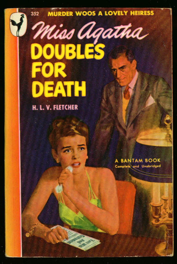 Image for Fletcher Miss Agatha Doubles for Death GGA pb cleavage