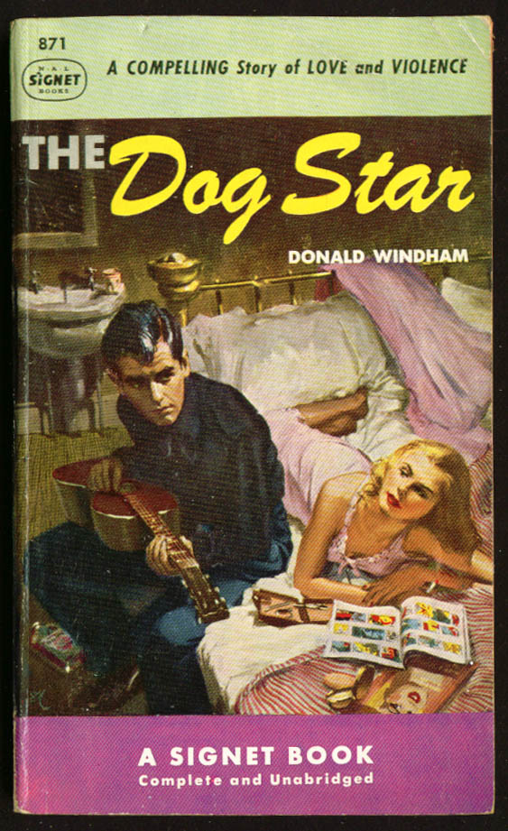 Image for Windham The Dog Star GGA pb blonde bed guitar beat
