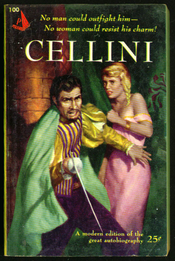 Image for Autobiography of Cellini GGA pb blonde braid cleavage