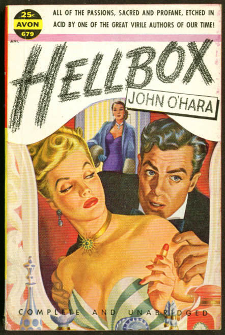 Image for John O'Hara Hellbox GGA pb blonde cleavage lipstick