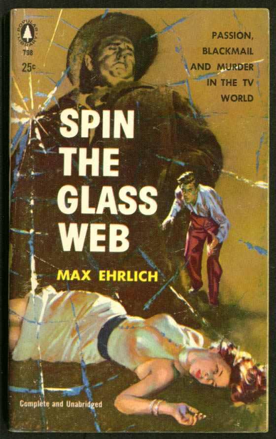 Image for Ehrlich: Spin the Glass Web GGA pb bosoms redhead