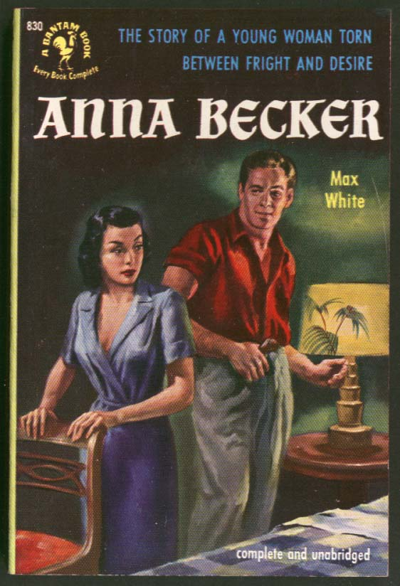 Image for Max White: Anna Becker GGA pb cleavage man woman to bed leering