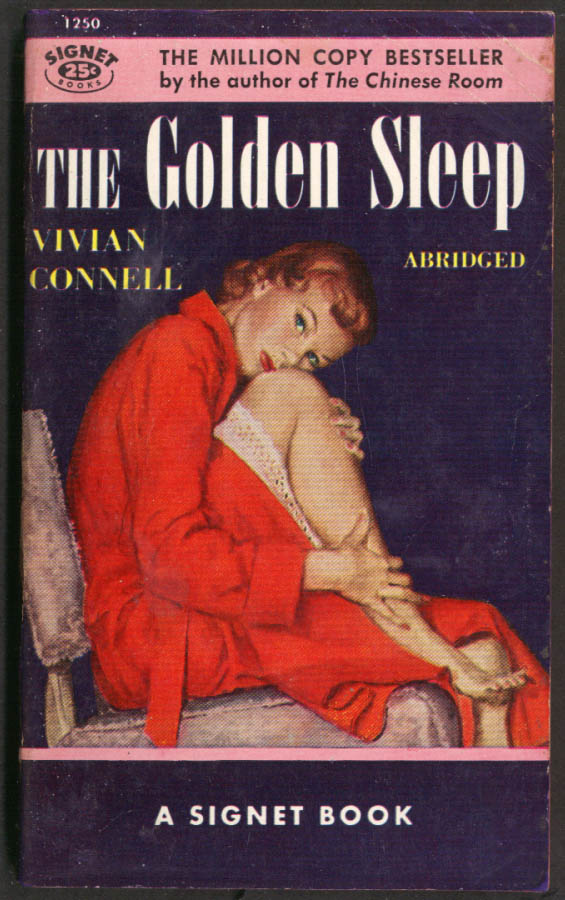 Image for Vivian Connell: The Golden Sleep GGA pb redhead robe touching legs