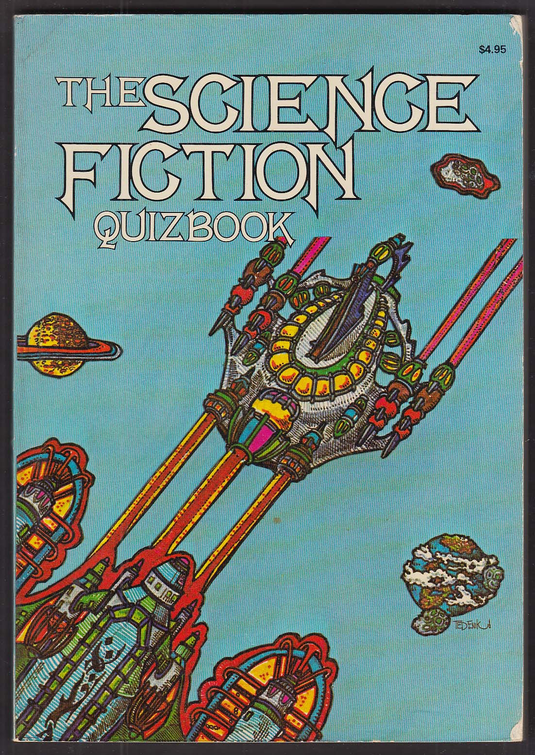 Image for Martin Last Baird Searles: Science Fiction Quizbook 1976 pb Vincent DiFate illus