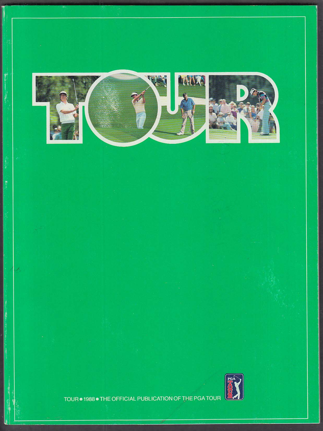 Image for PGA Golf Tour 1988 Official Publication TPC Valley ++