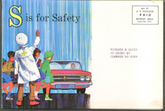 Image for Chevrolet dealer mailer Seeing Stopping Steering Silence 1960 Impala 2-dr