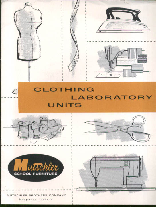 Image for Mutschler School Furniture Clothing Lab Catalog 1956