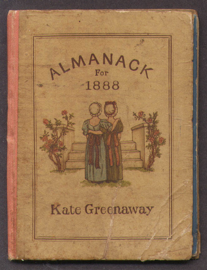 Image for Kate Greenaway Almanack for 1888 complete original 1st edition