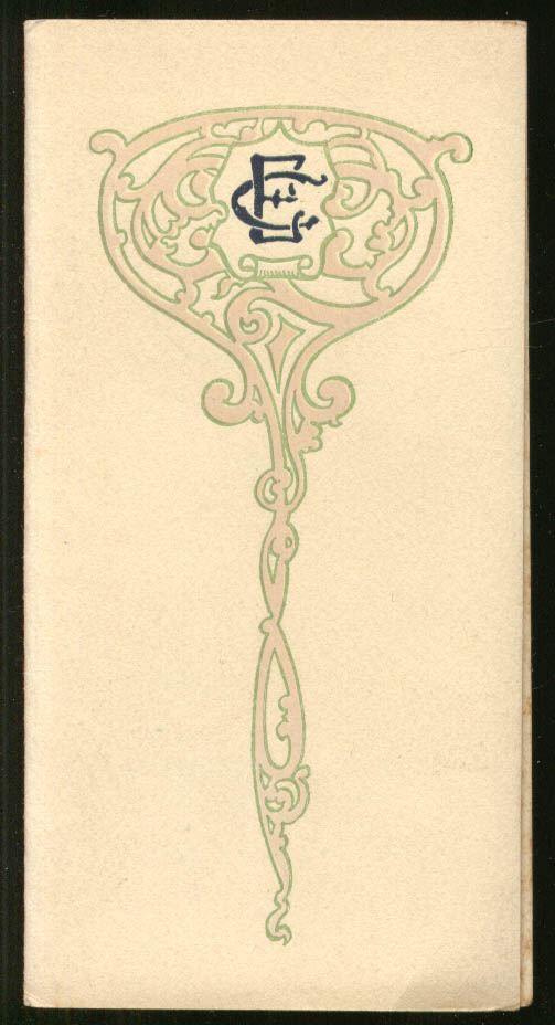 Image for Young People's Society 1st Congregational Kensington CT Prayer Topics 1913 CT
