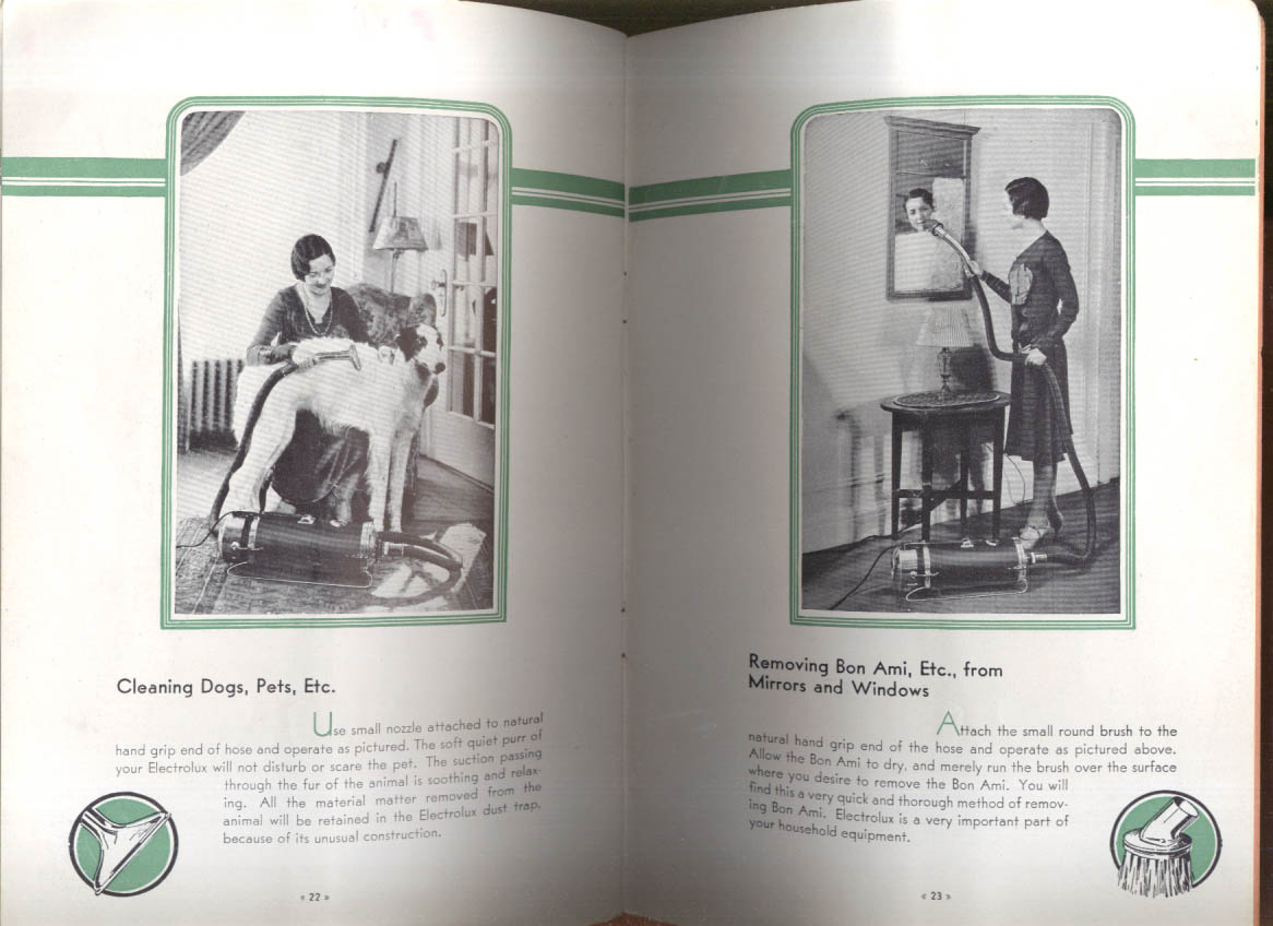 Image for Electrolux Vacuum Cleaner & How to Use It booklet 1932