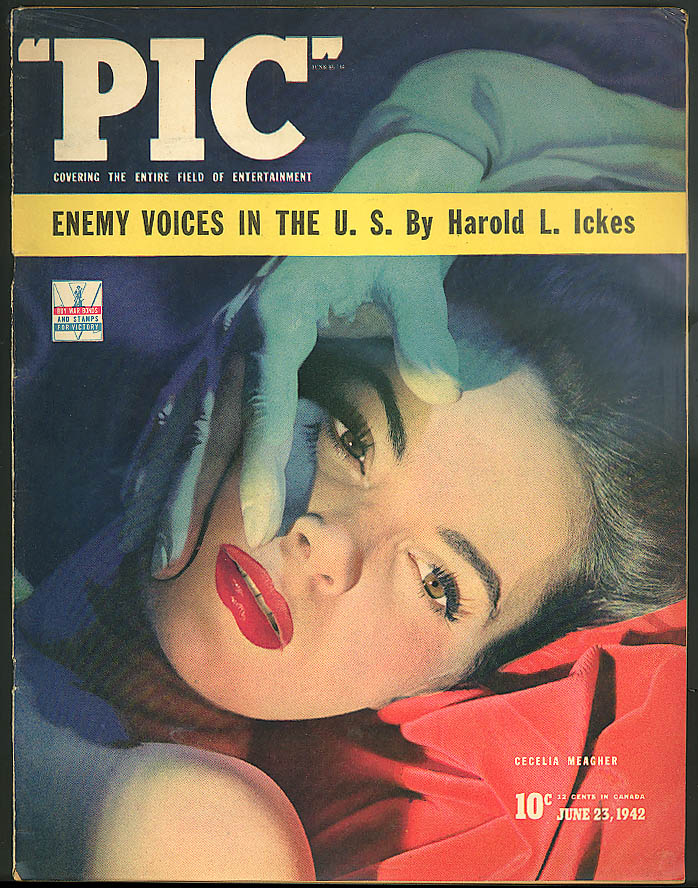 Image for PIC Marian Anderson USN Dirigibles Beatrice Fairfax Nazi Friedrich Flick 6 1942
