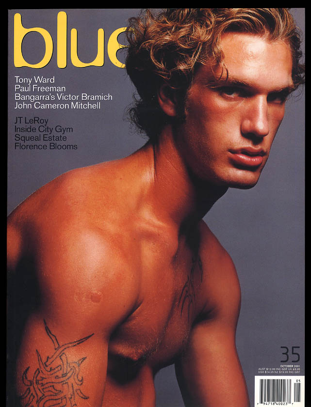 Image for NOT ONLY BLUE Gay male erotica #35 10 2001 Tony Ward Paul Freeman Victor Bramich
