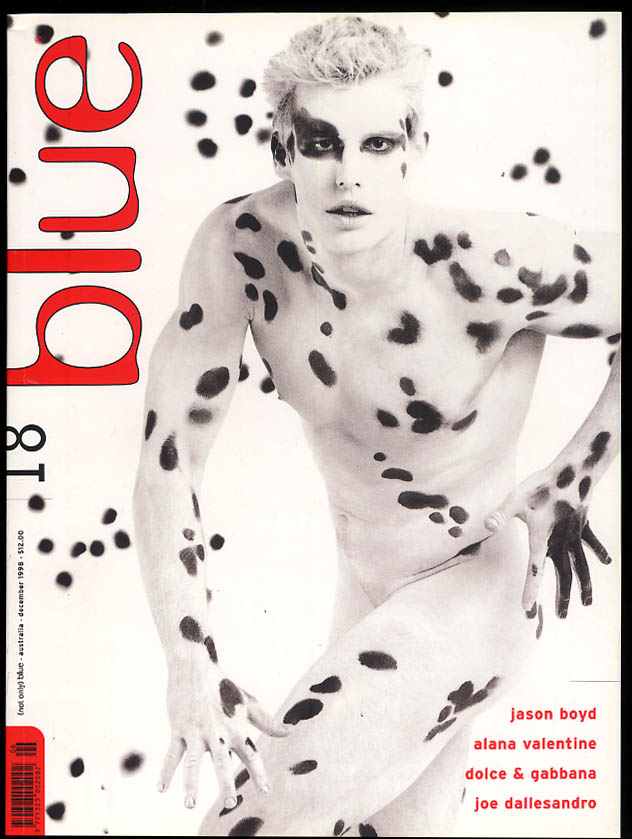 Image for NOT ONLY BLUE Gay male erotica #18 12 1998 Dallesandro Dolce & Gabbana Boyd +