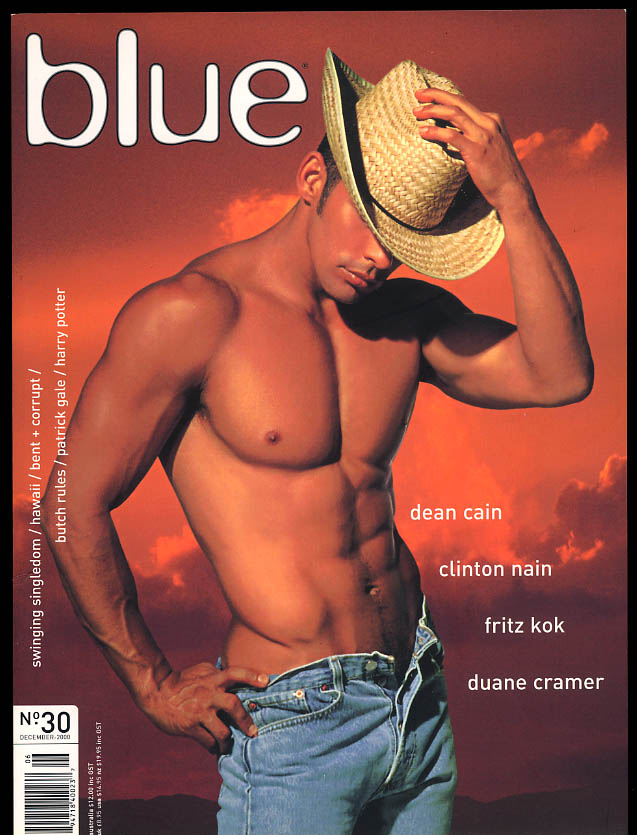 Image for NOT ONLY BLUE Gay male erotica #30 12 2000 Dean Cain Nain Kok Duane Cramer