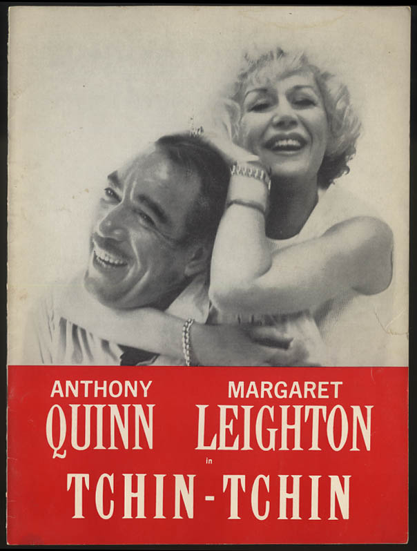 Image for Tchin-Tchin program Anthony Quinn Margaret Leighton Charles Grodin 1960s