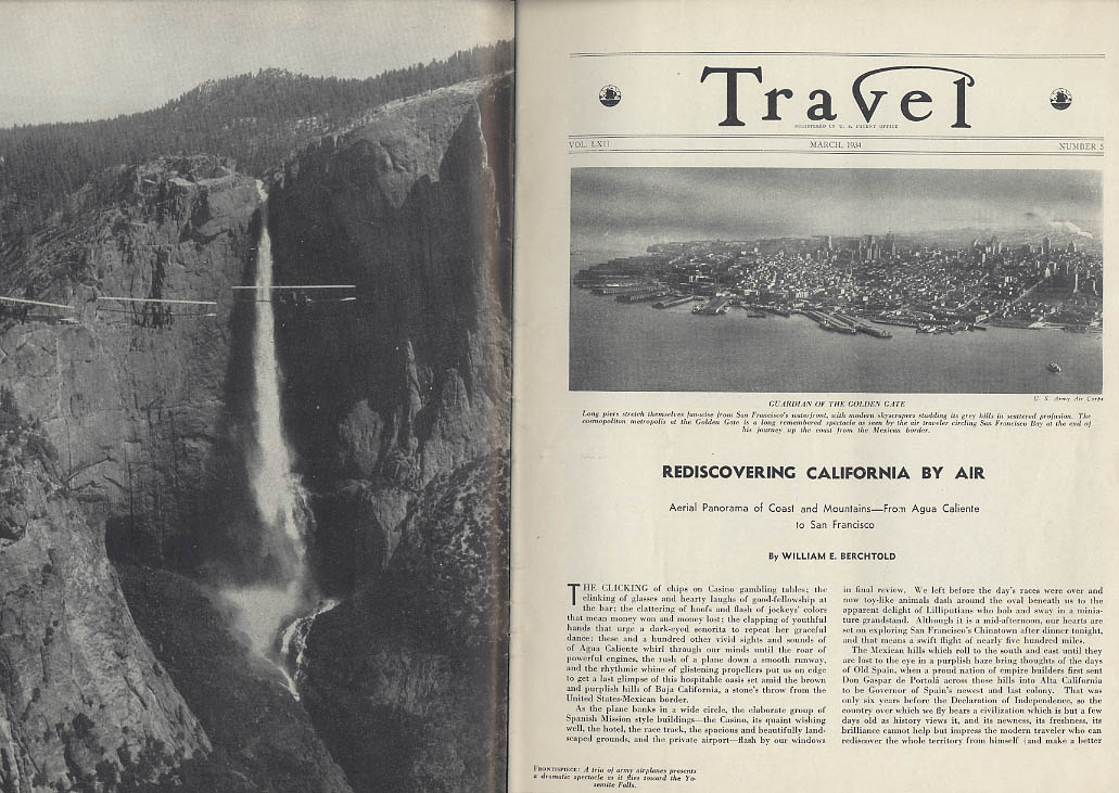 Image for TRAVEL 3 1934 California from Air; Russian Science; Galapagos Critters