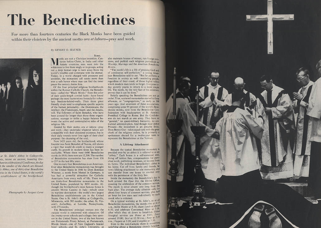 Image for SATURDAY EVENING POST 5/26 1962 George Romney; Eddie Sachs; Benedictines