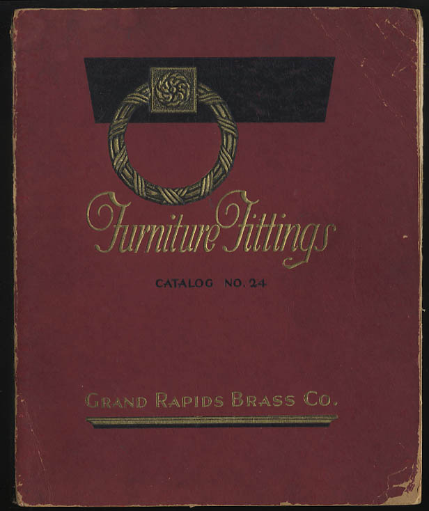 Image for Grand Rapids Brass Furniture Fittings Catalog #24 1924
