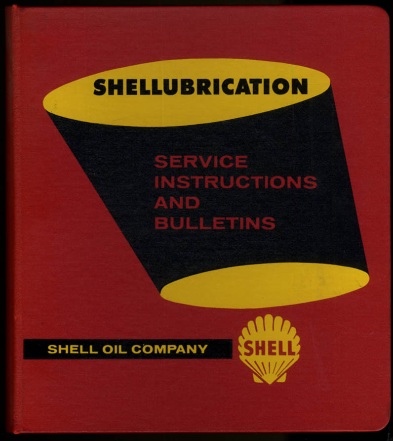 Image for Shell Oil Shellubrication Service Instructions & Bulletins 1958-1959