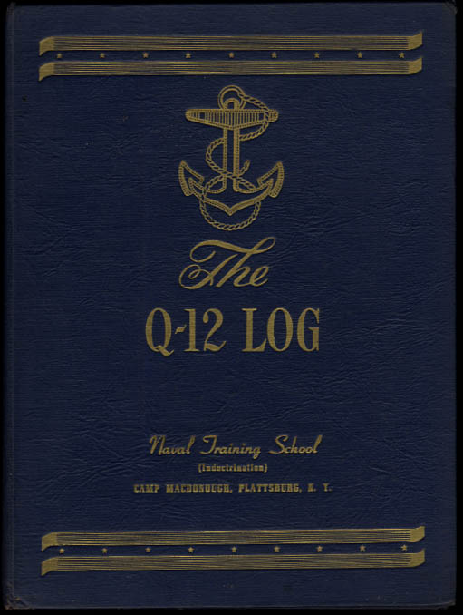 Image for Q-12 Log Naval Training School Camp Macdonough Plattsburg NY 1944
