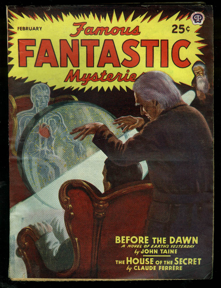 Image for FAMOUS FANTASTRIC MYSTERIES pulp John Taine Claude Ferrere 2 1946