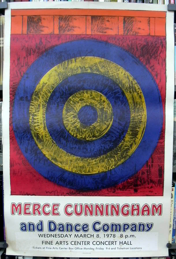 Image for Jasper Johns Merce Cunningham & Dance Company 1968 Fine Arts Center 1978 Umass