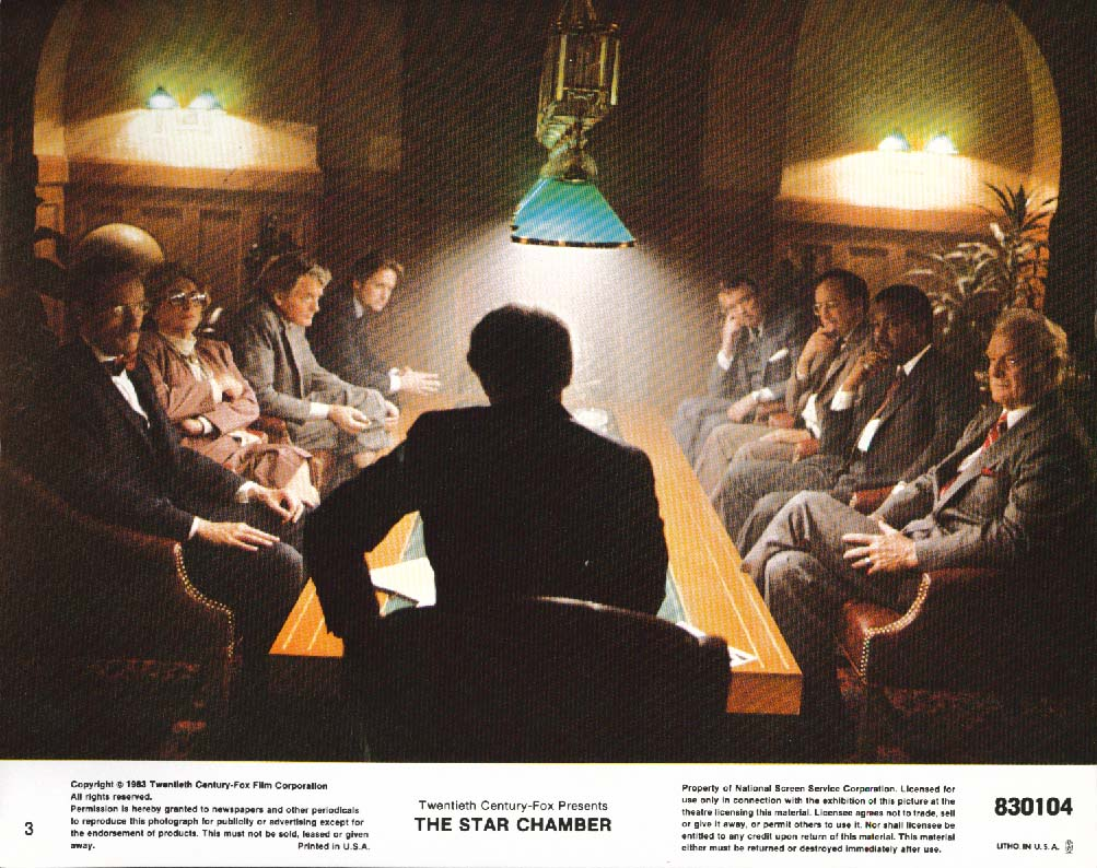 Image for The Star Chamber lobby card 1983