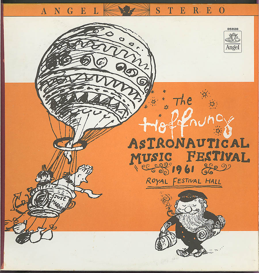 Image for Hoffnung Astronautical Music Festival 1961 LP Angel