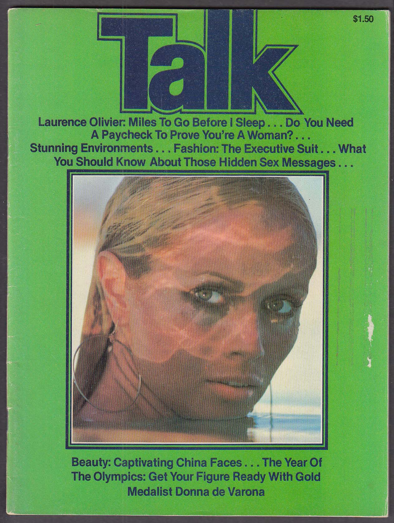 Image for TALK Laurence Olivier Donna de Varona 8 1979