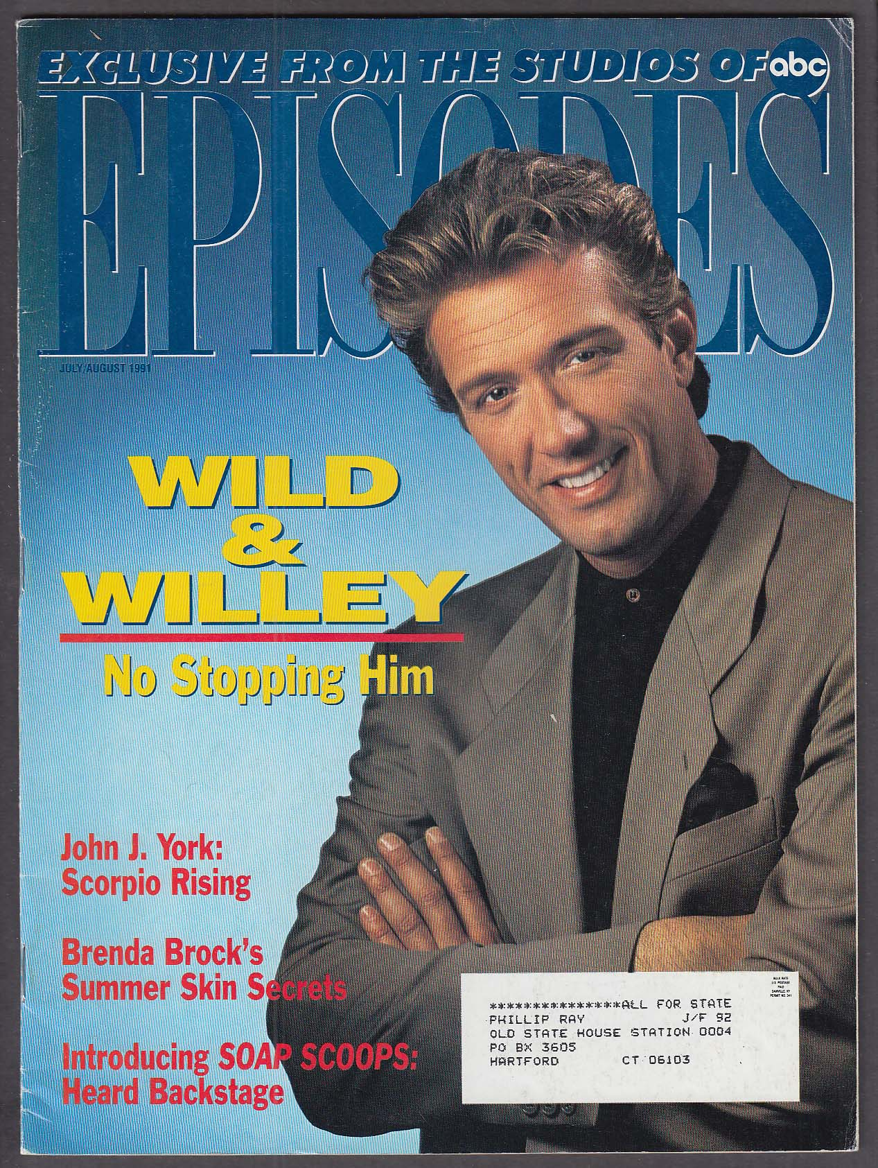 Image for EPISODES Walt Willey Van Eman John J York Brenda Brock ABC 7 1991