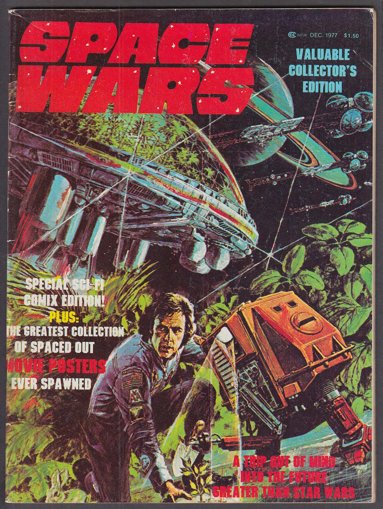 Image for SPACE WARS Star Trek Logan's Run Sci-Fi Comics Edition ++ 12 1977