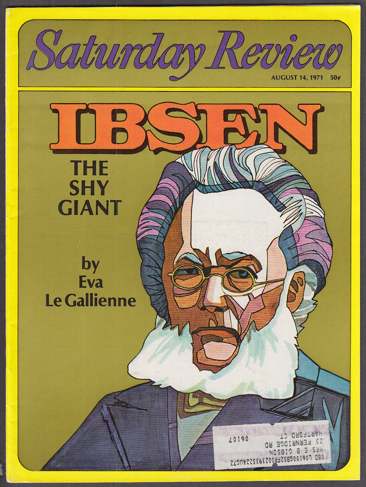 Image for SATURDAY REVIEW Ibsen by Eva Le Gallienne 8/14 1971