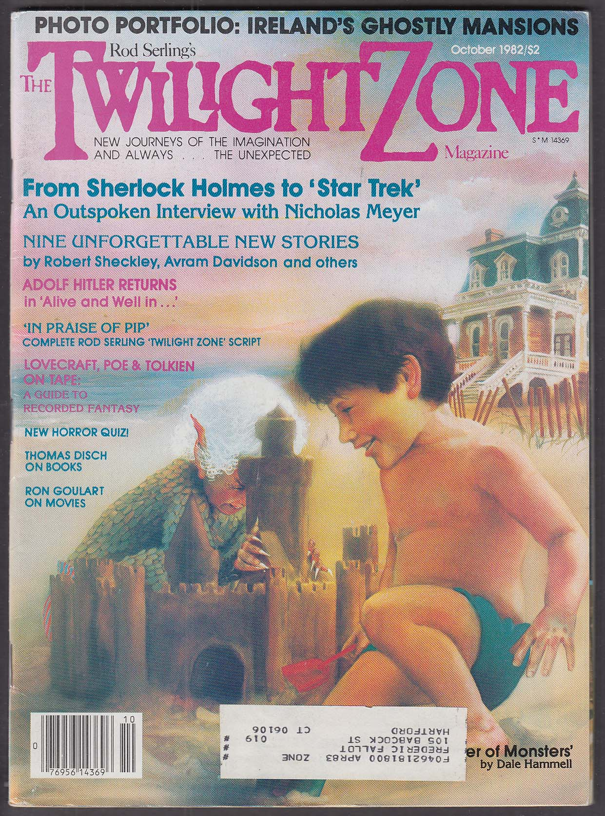 Image for TWILIGHT ZONE Nicholas Meyer interview; Star Trek 10 1982