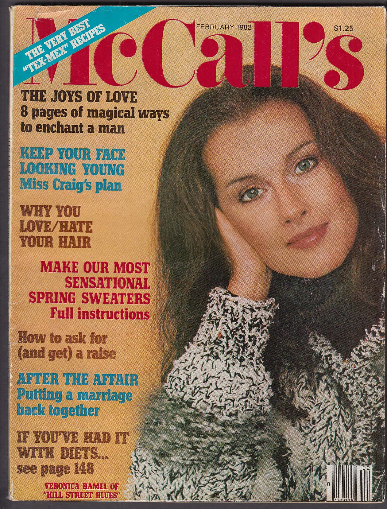 Image for McCALL'S Veronica Hamel 2 1982
