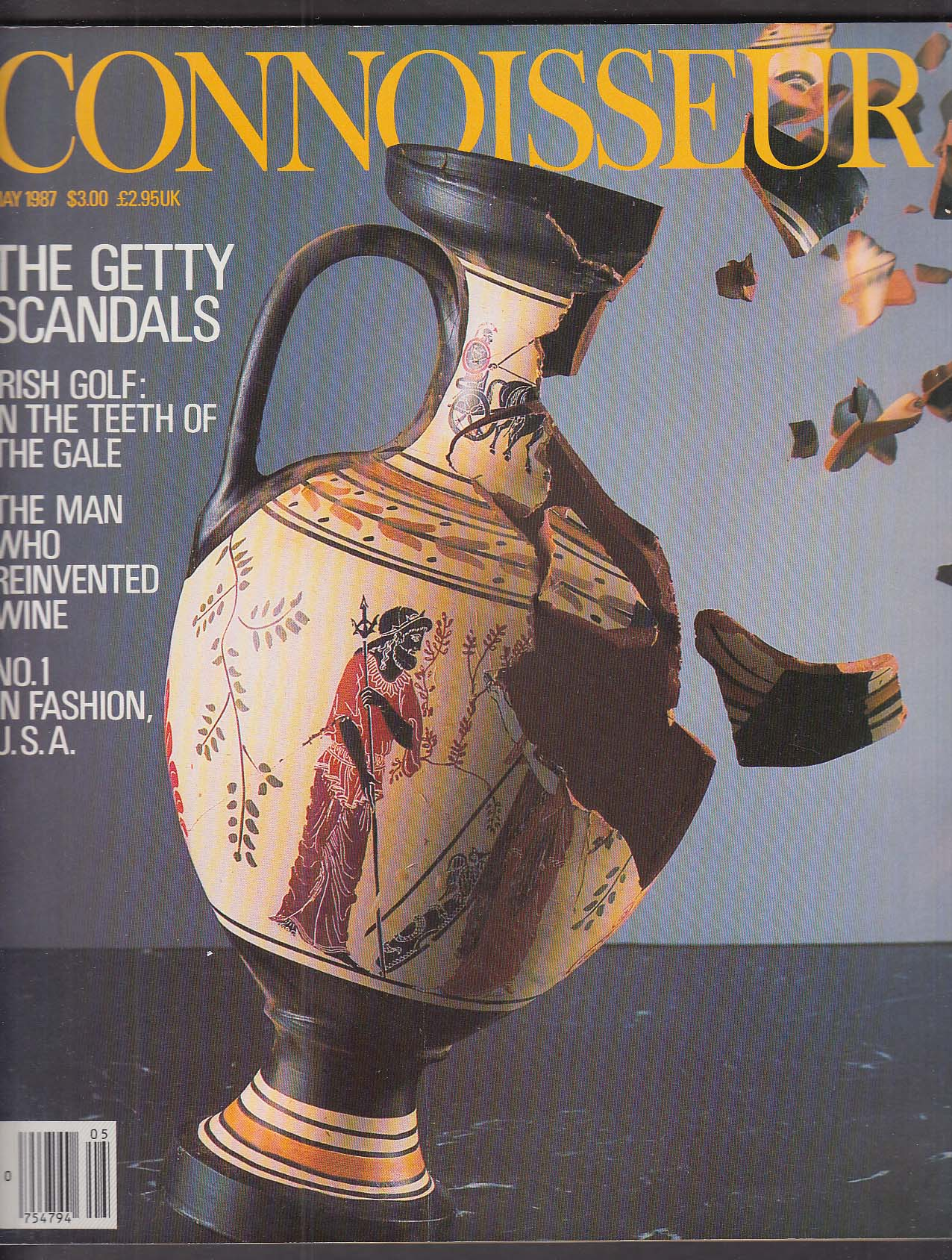 Image for CONNOISSEUR Geoffrey Beene Irish golf Getty Scandals Ahdras Schiff 5 1987