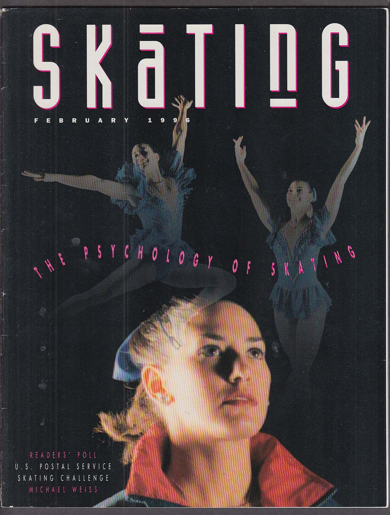Image for SKATING Michael Weiss Michelle Kwan 2 1996