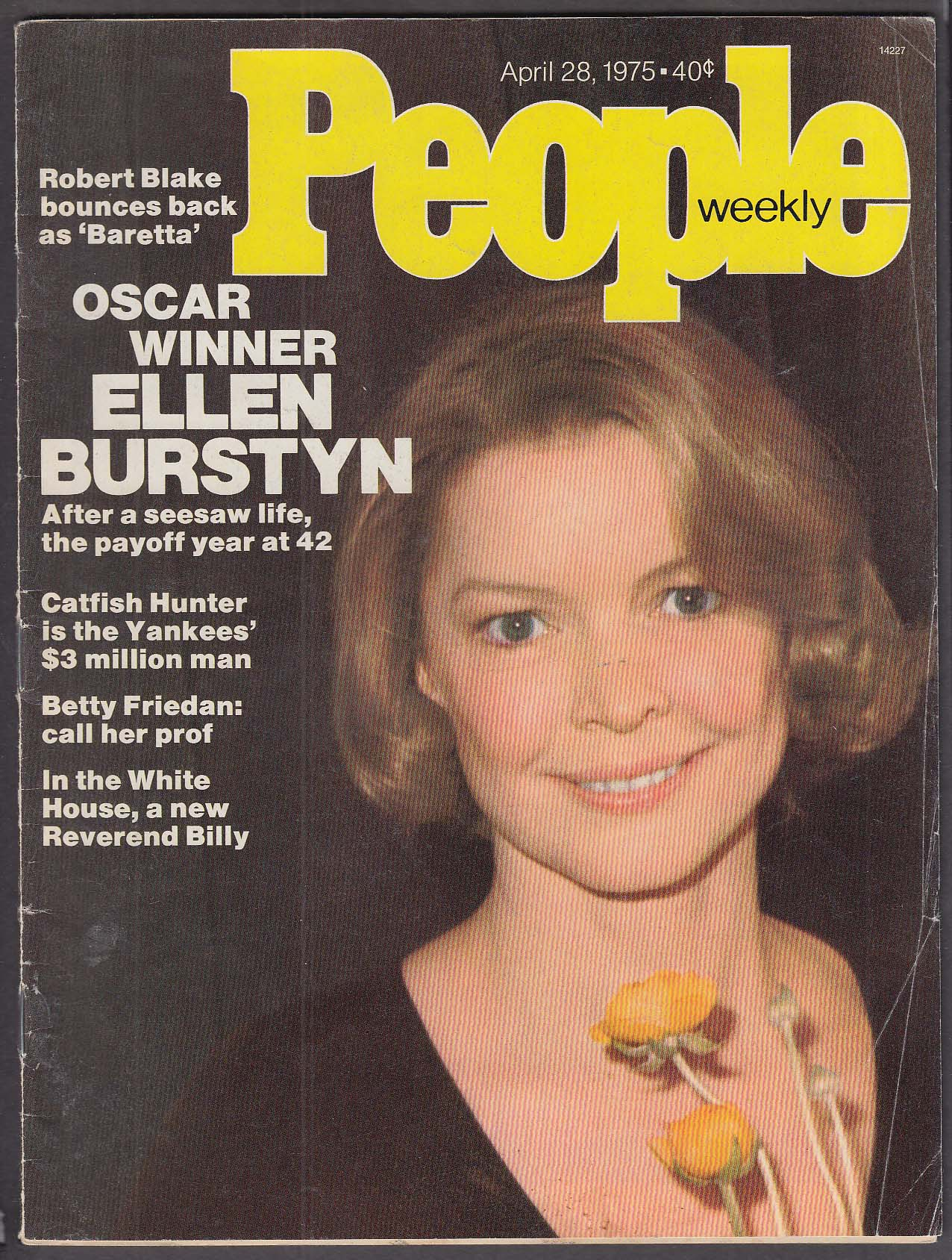 Image for PEOPLE Ellen Burstyn Robert Blake 4/28 1975
