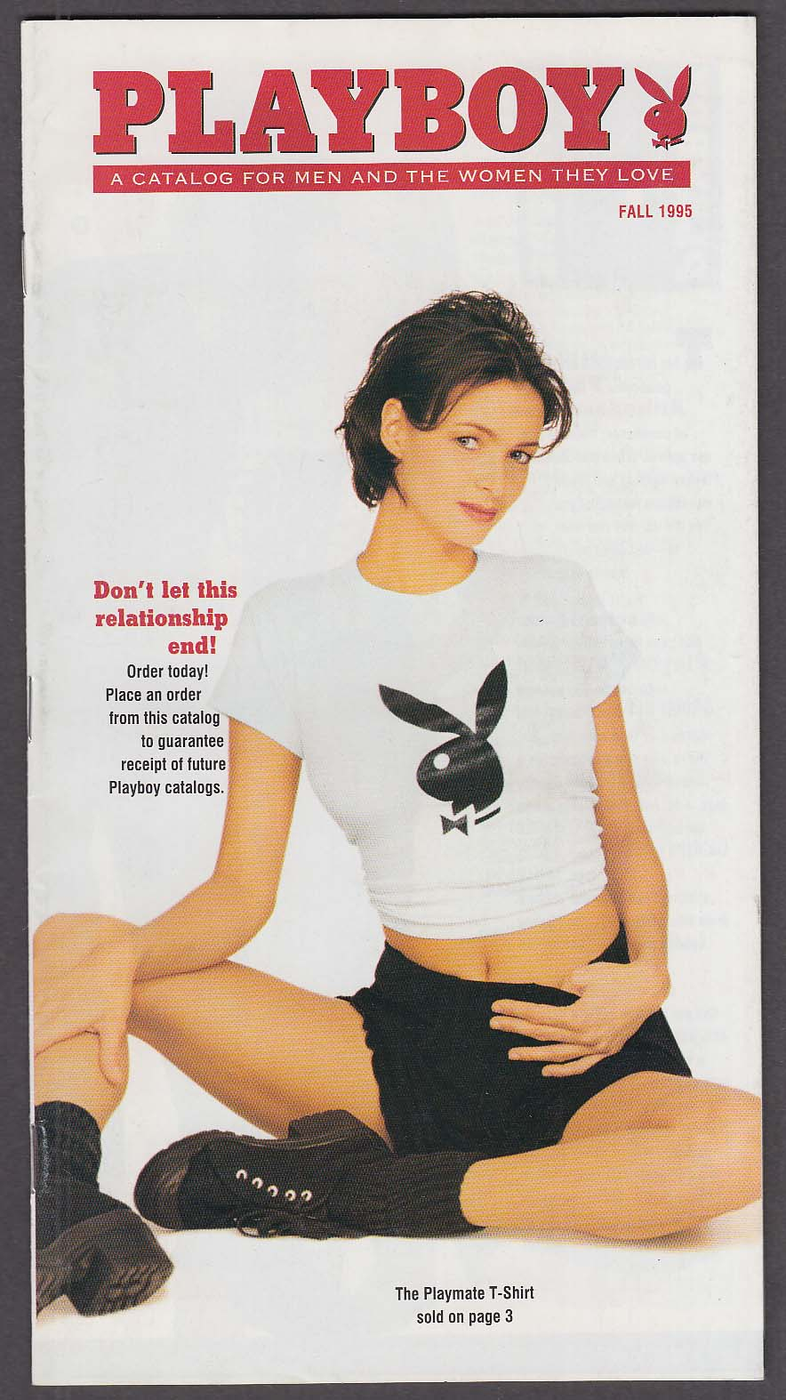 Image for Playboy products catalog Fall 1995