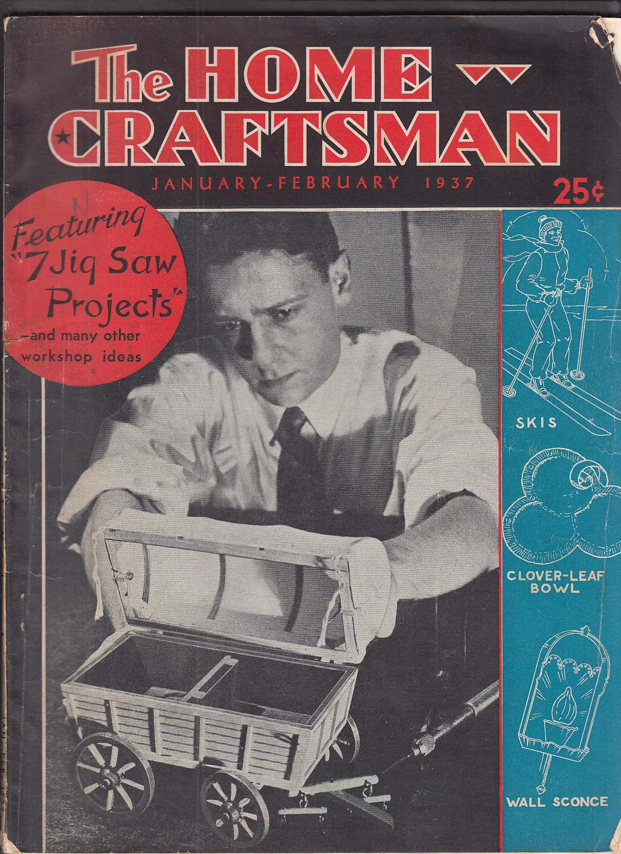 Image for HOME CRAFTSMAN Jig Saw projects + 1-2 1937