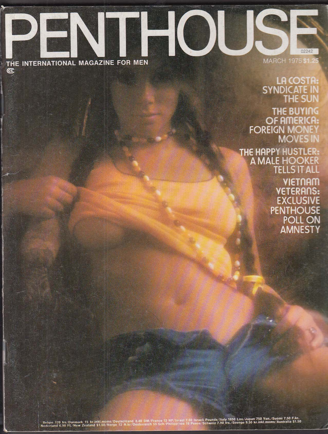 Image for PENTHOUSE Studs Terkel interview; La Costa; Vietnam Vets Amnesty Poll etc 3 1975