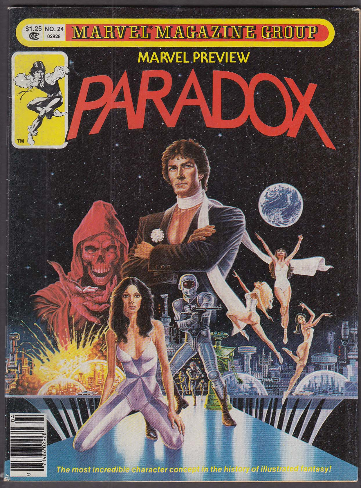 Image for Marvel Preview #24: PARADOX ++ Winter 1980