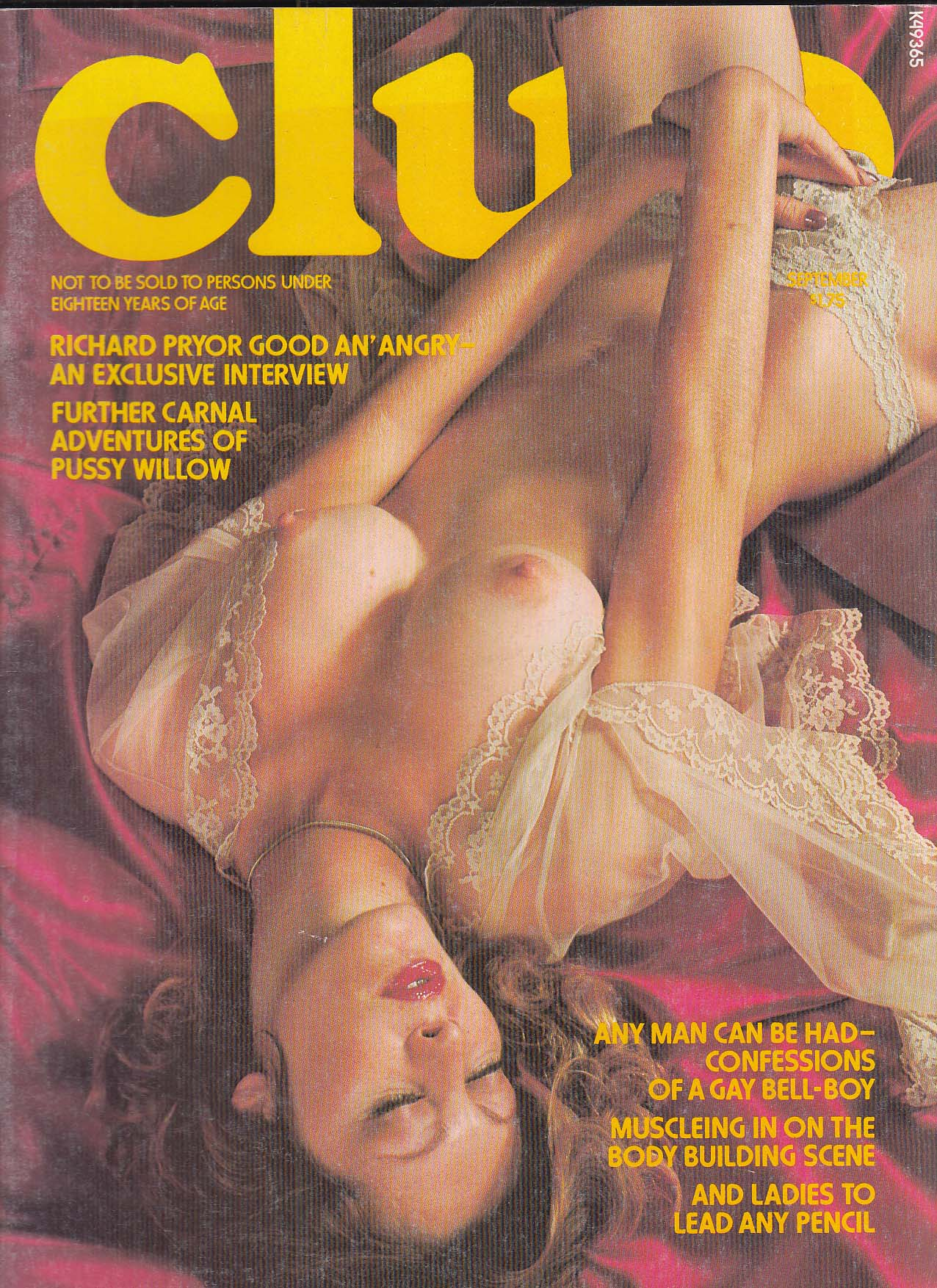 Image for CLUB Richard Pryor interview Pussy Willlow Olivia de Berardinis + 9 1976