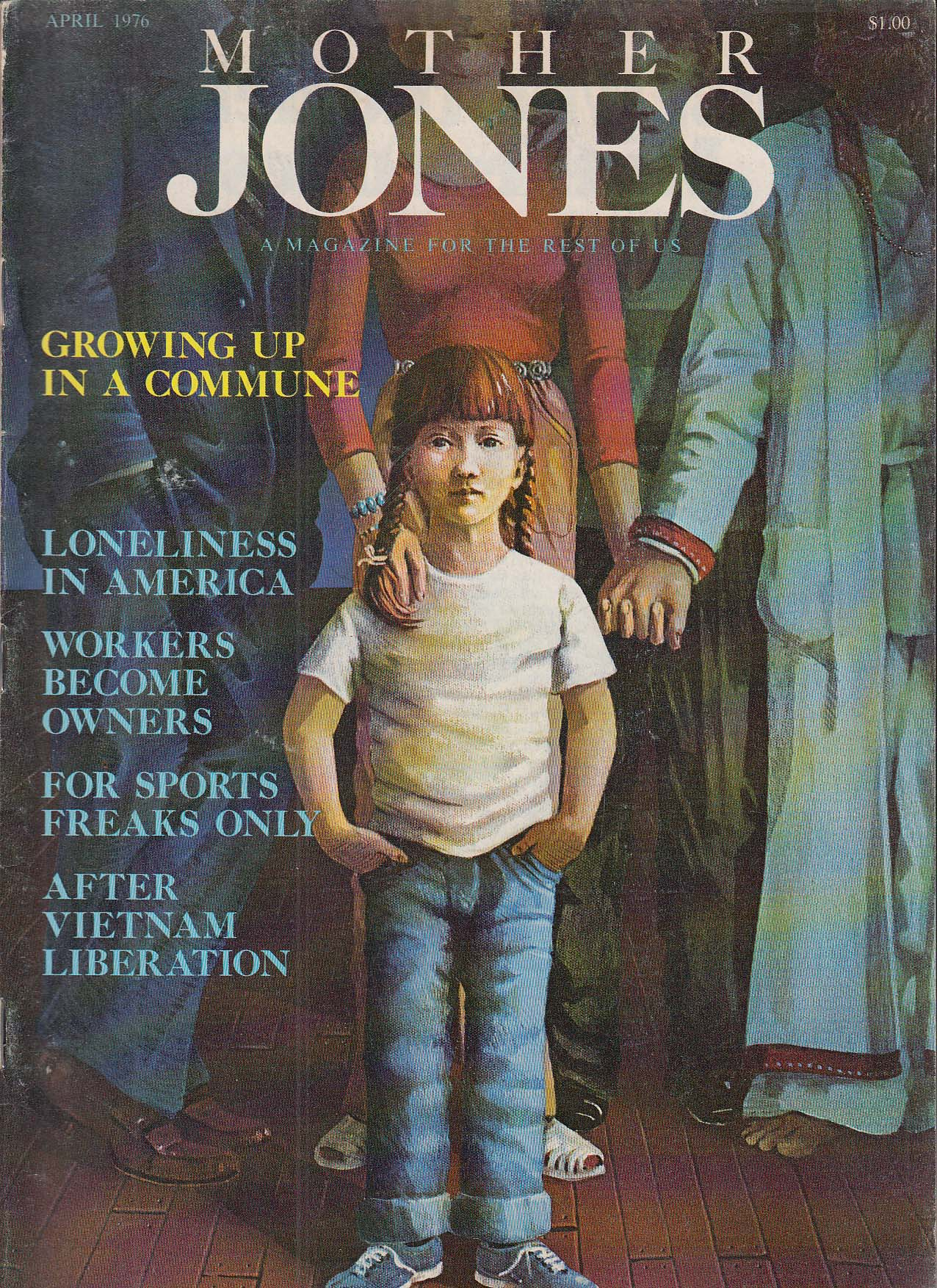 Image for MOTHER JONES #2 After Vietnam Liberation 4 1976