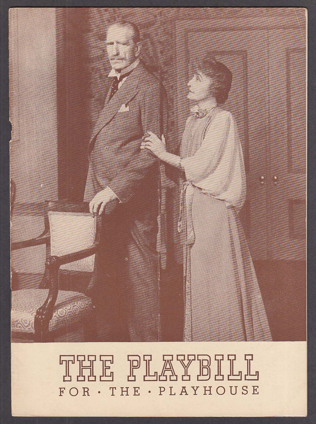 Image for Grace George C Aubrey Smith Spring Again Playbill 1942
