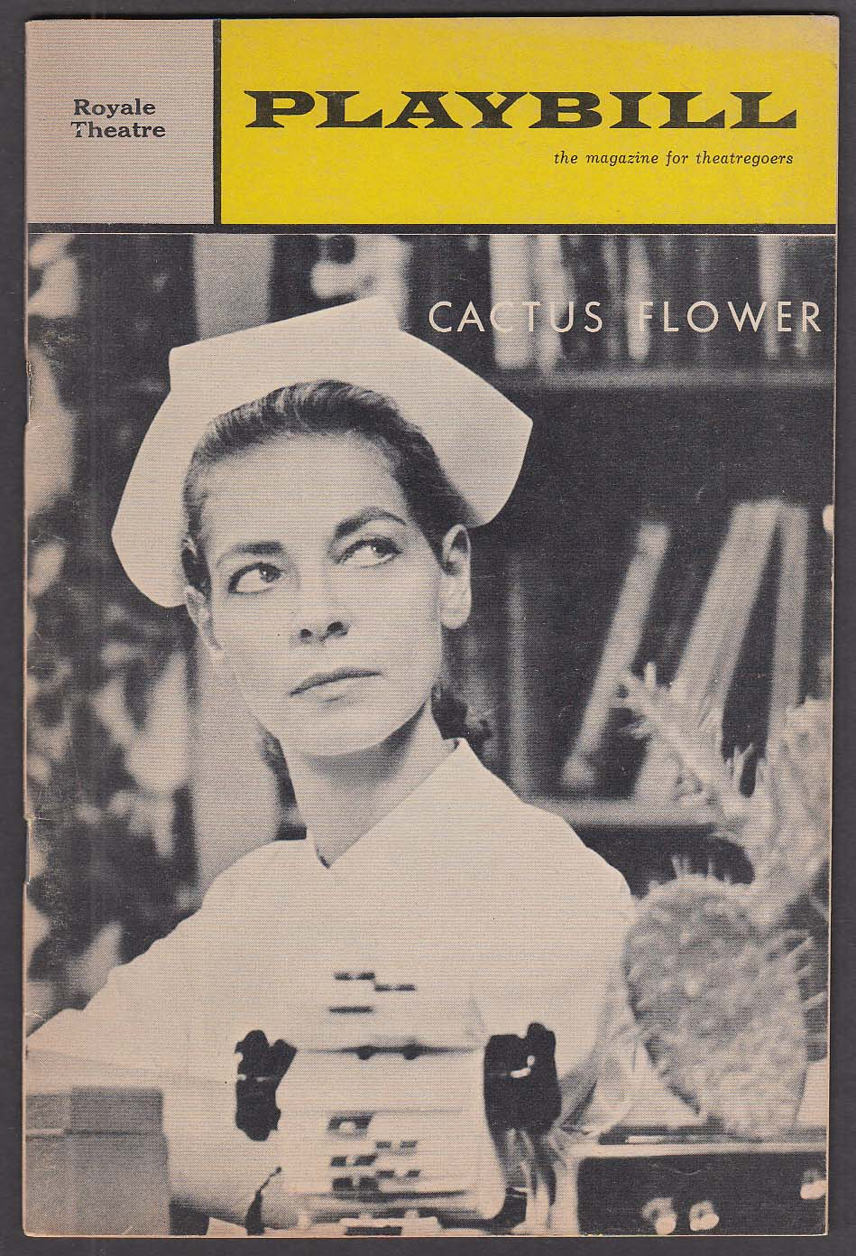 Image for Lauren Bacall Cactus Flower opening run Playbill 1966