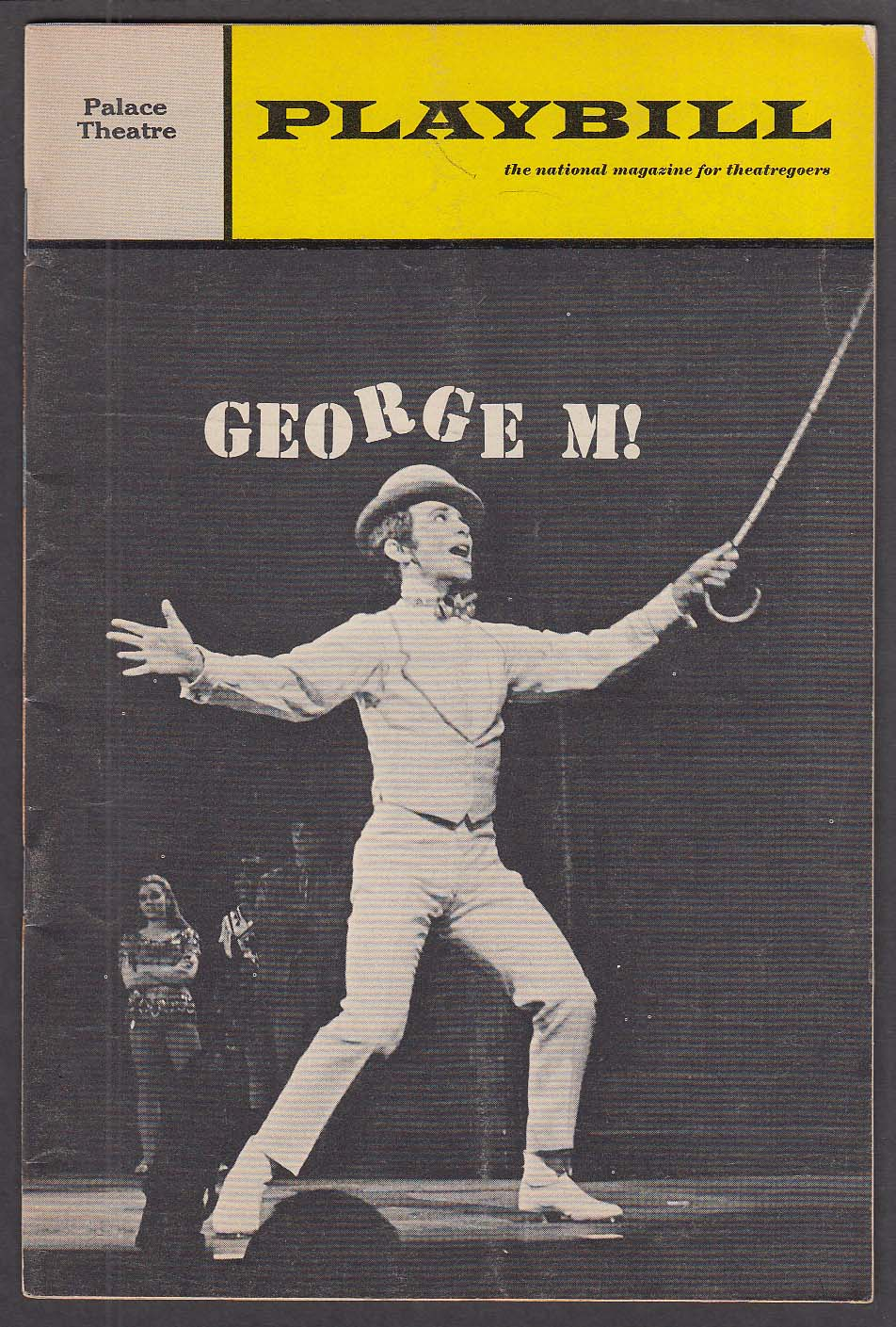 Image for Joel Grey George M! Palace Theatre Playbill 1st run 1968 Bernadette Peters
