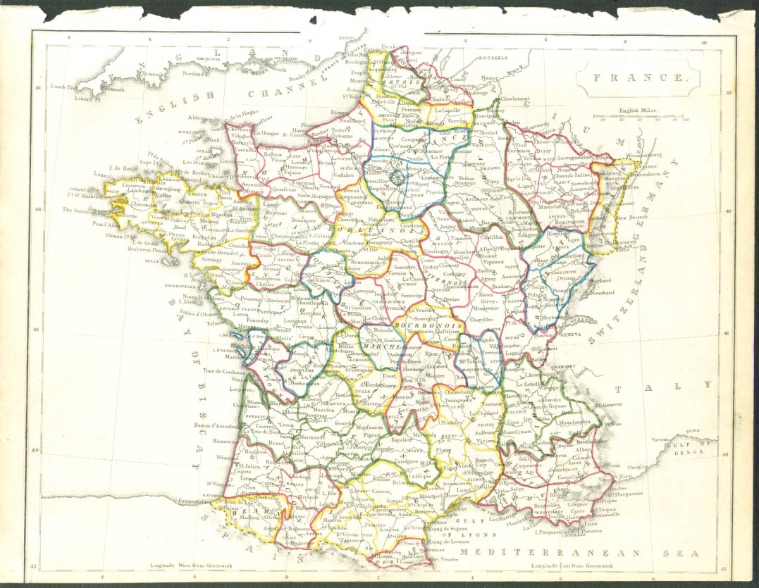 Image for 1848 color map: France complete